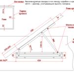 схема кровати с подъемным механизмом