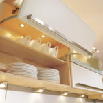 светодиодная лента в шкафу