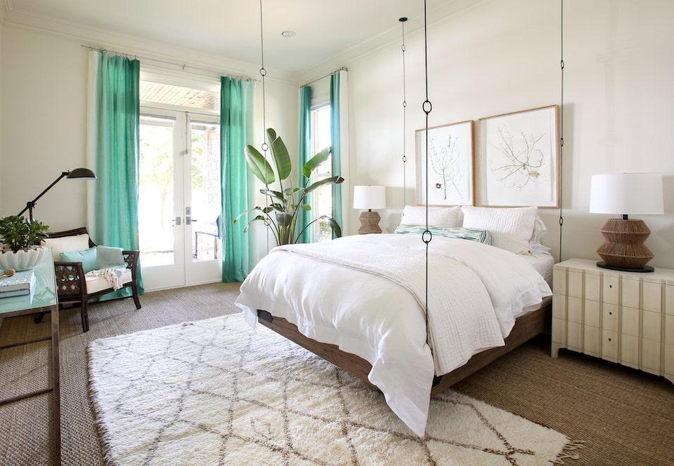 подвесная кровать дизайн идеи