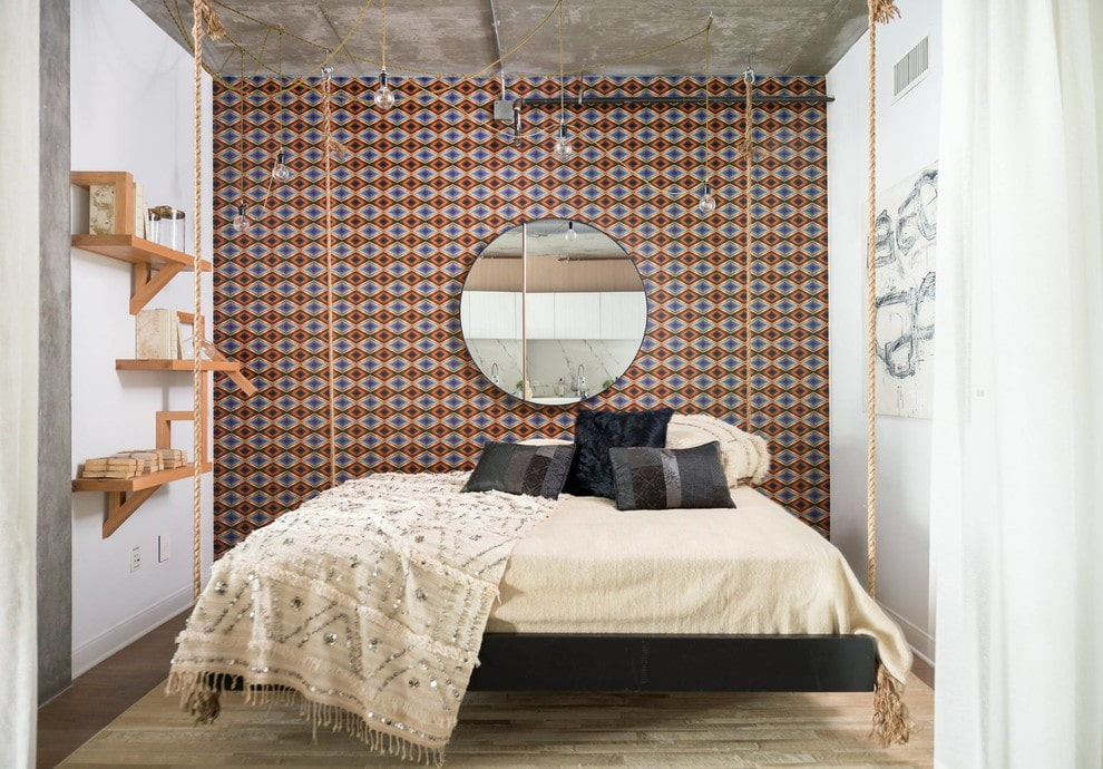 подвесная кровать фото декор