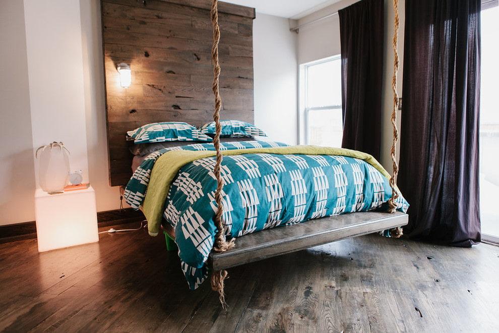 подвесная кровать фото дизайн