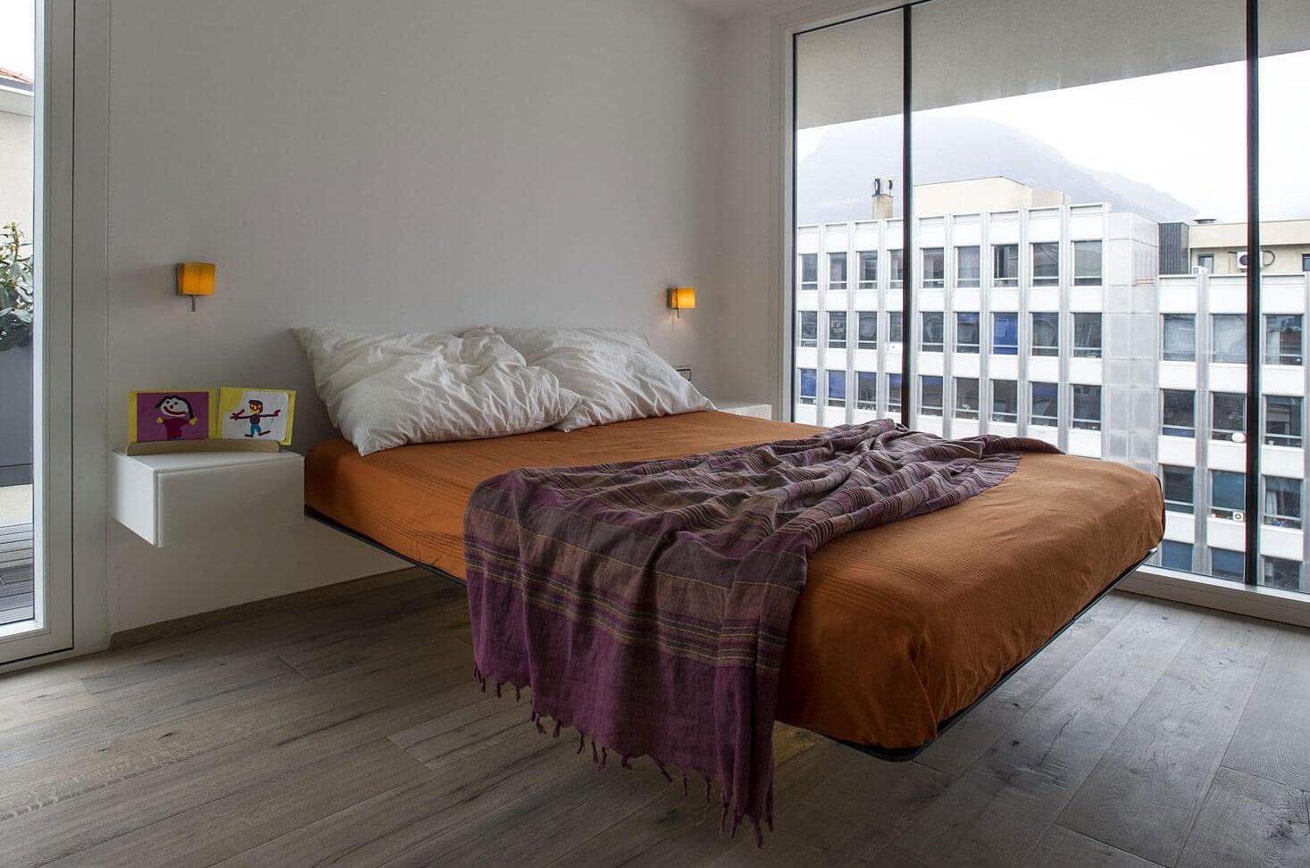 подвесная кровать идеи