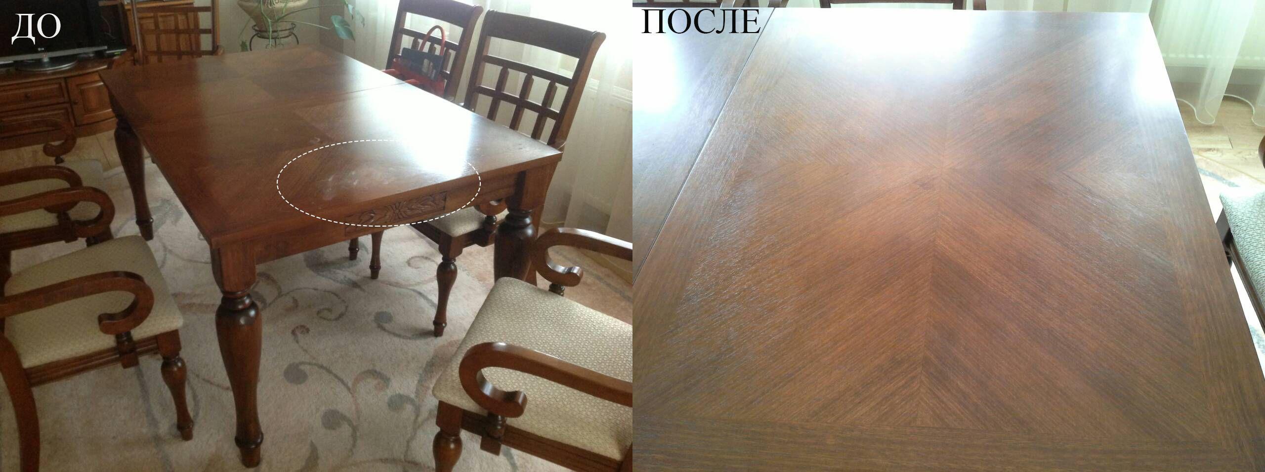 Полировка мебели