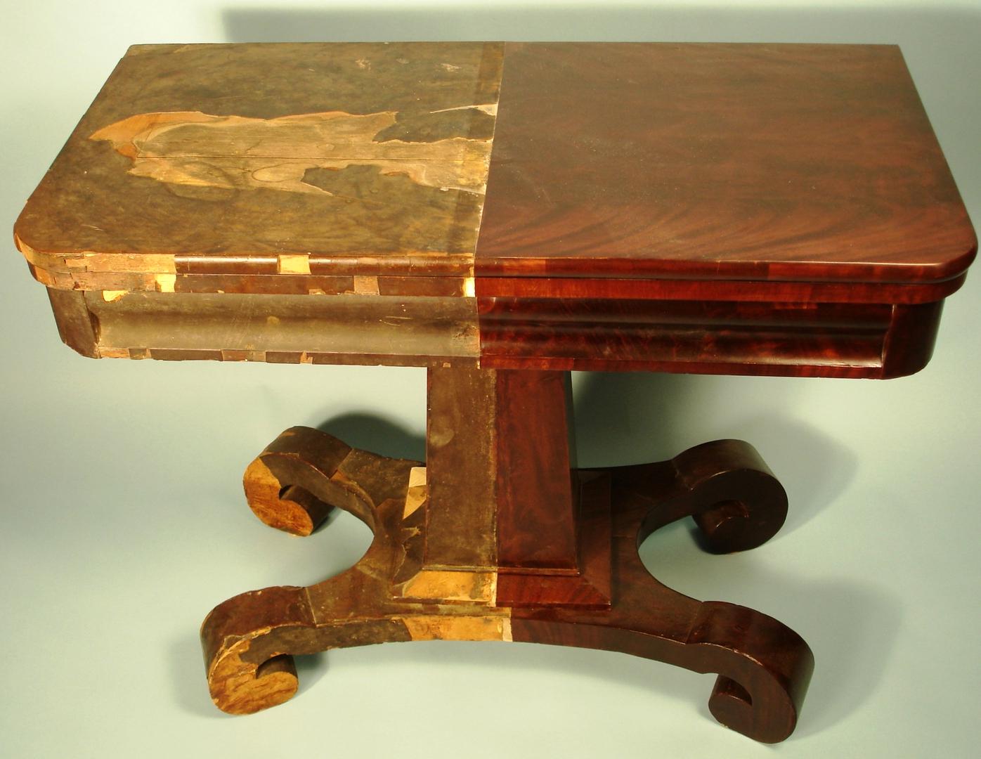 полированного стола