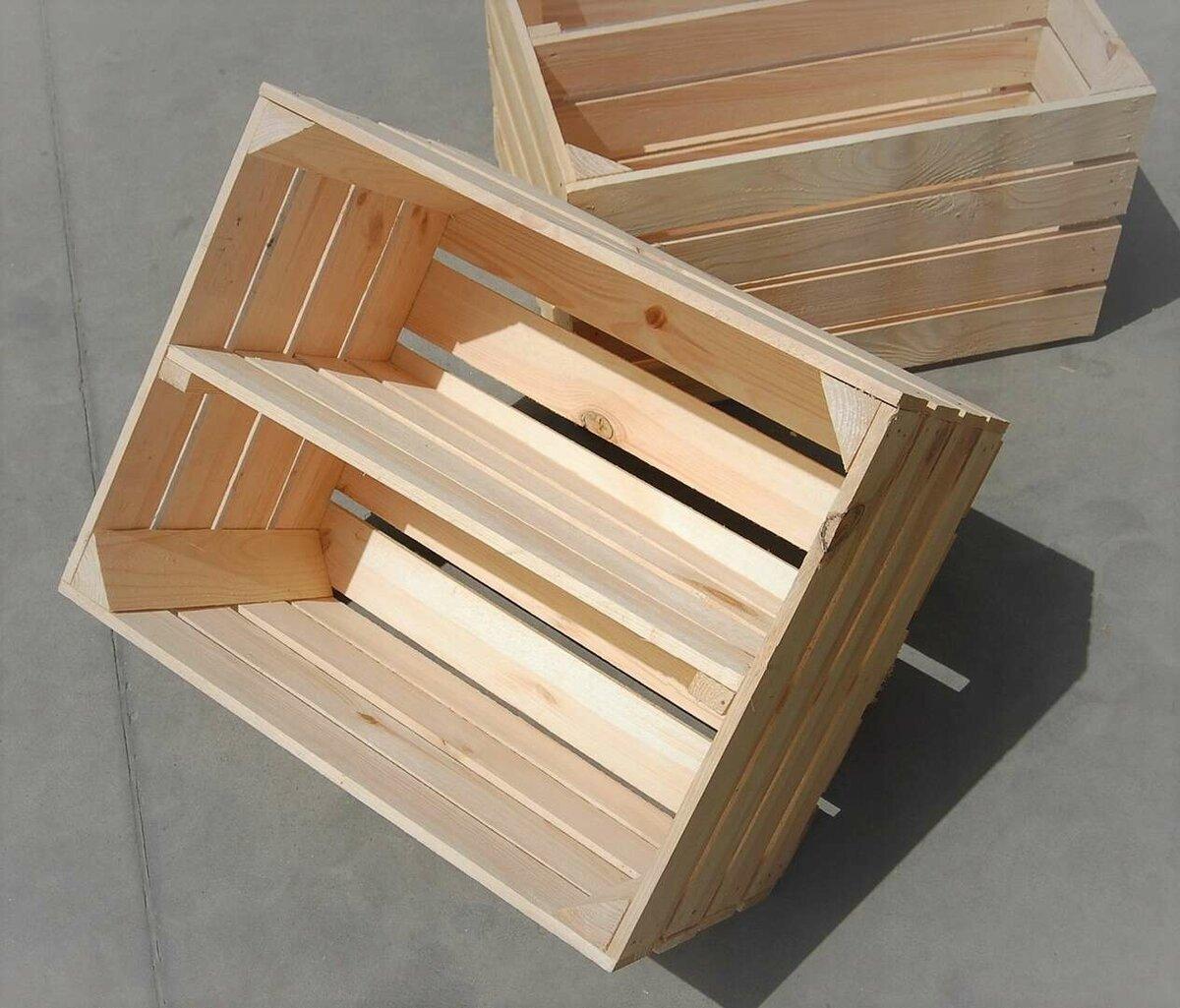 разбор деревянного ящика