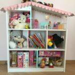 полка-домик для книг