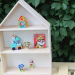 полка-домик для ребенка
