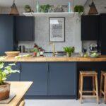 полки в кухне дизайн