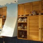 полки в кухне оформить