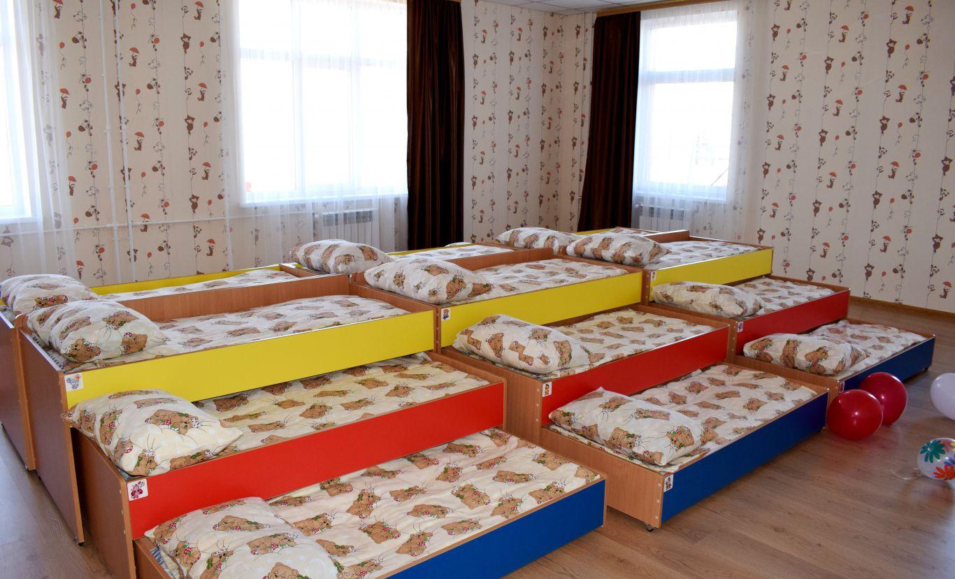 постели в детском саду