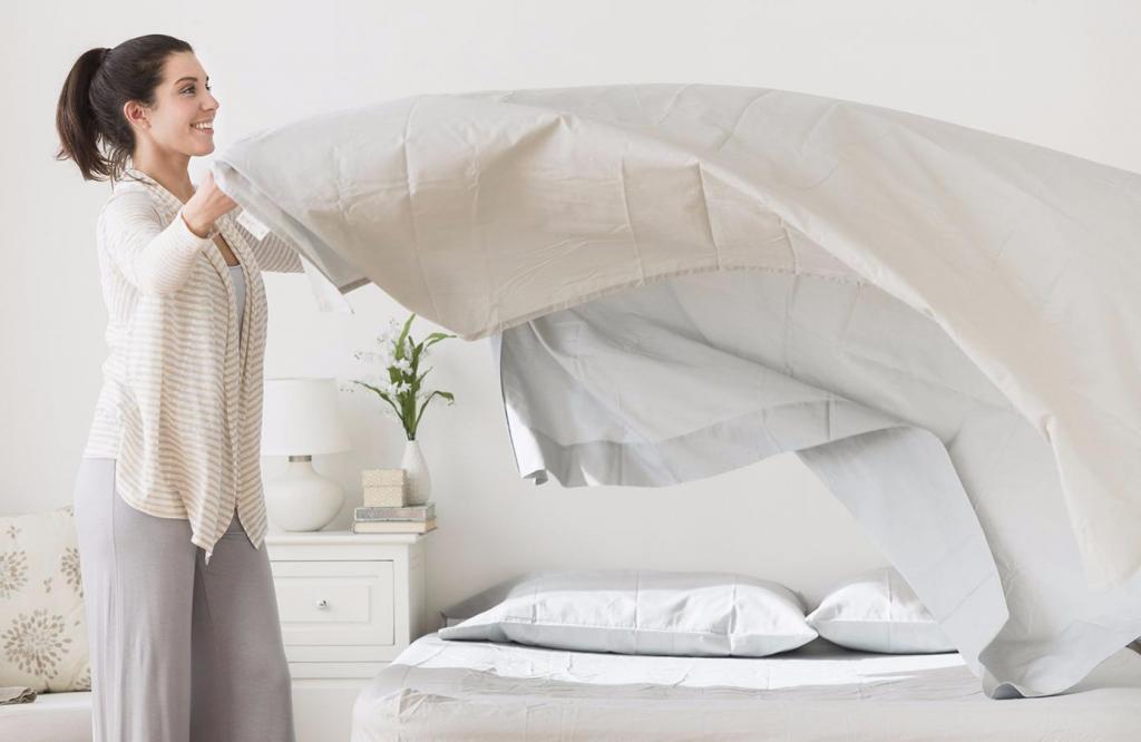 постельное белье проветривание