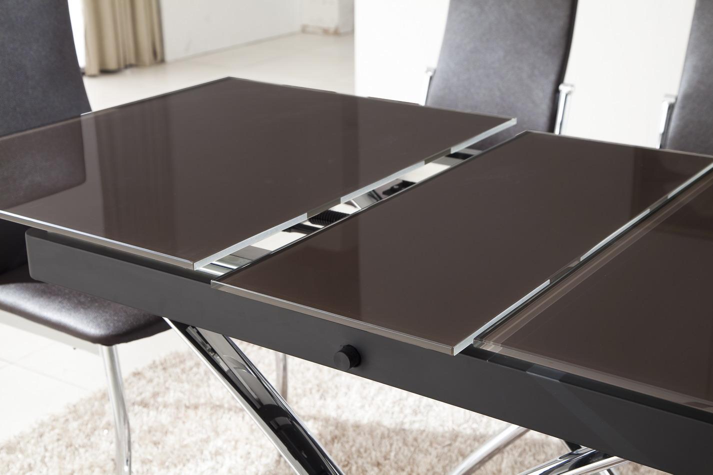 стол трансформер в гостиной как выбрать