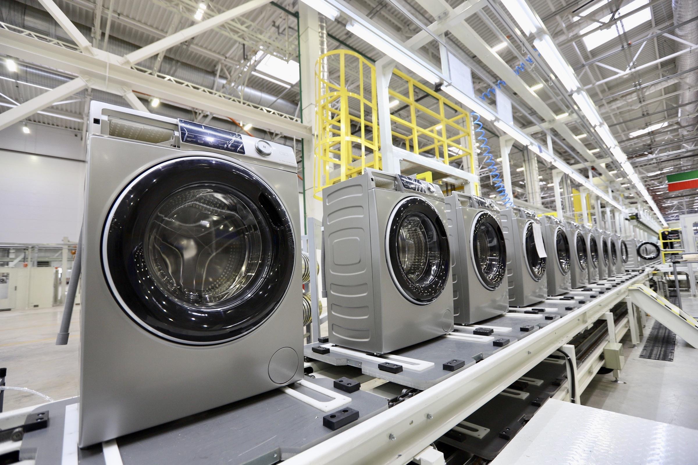 производство стиральных машин