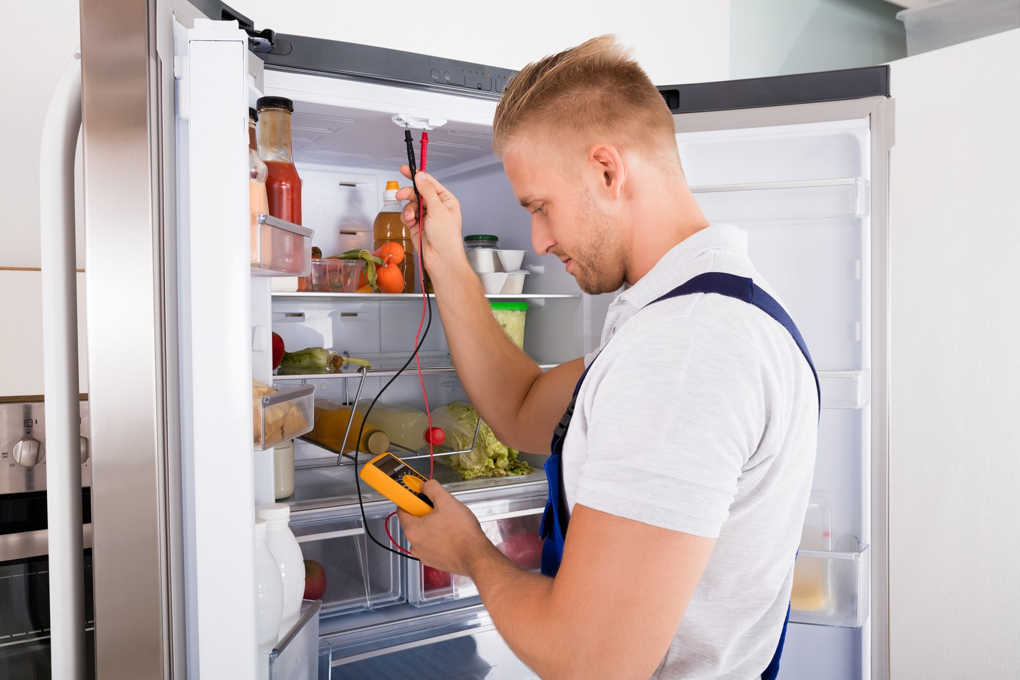 проверить холодильник тестером