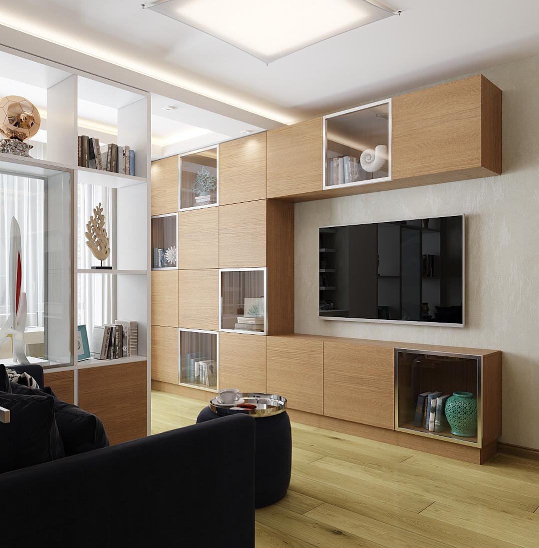 новости фото однокомнатных квартир со стенкой если