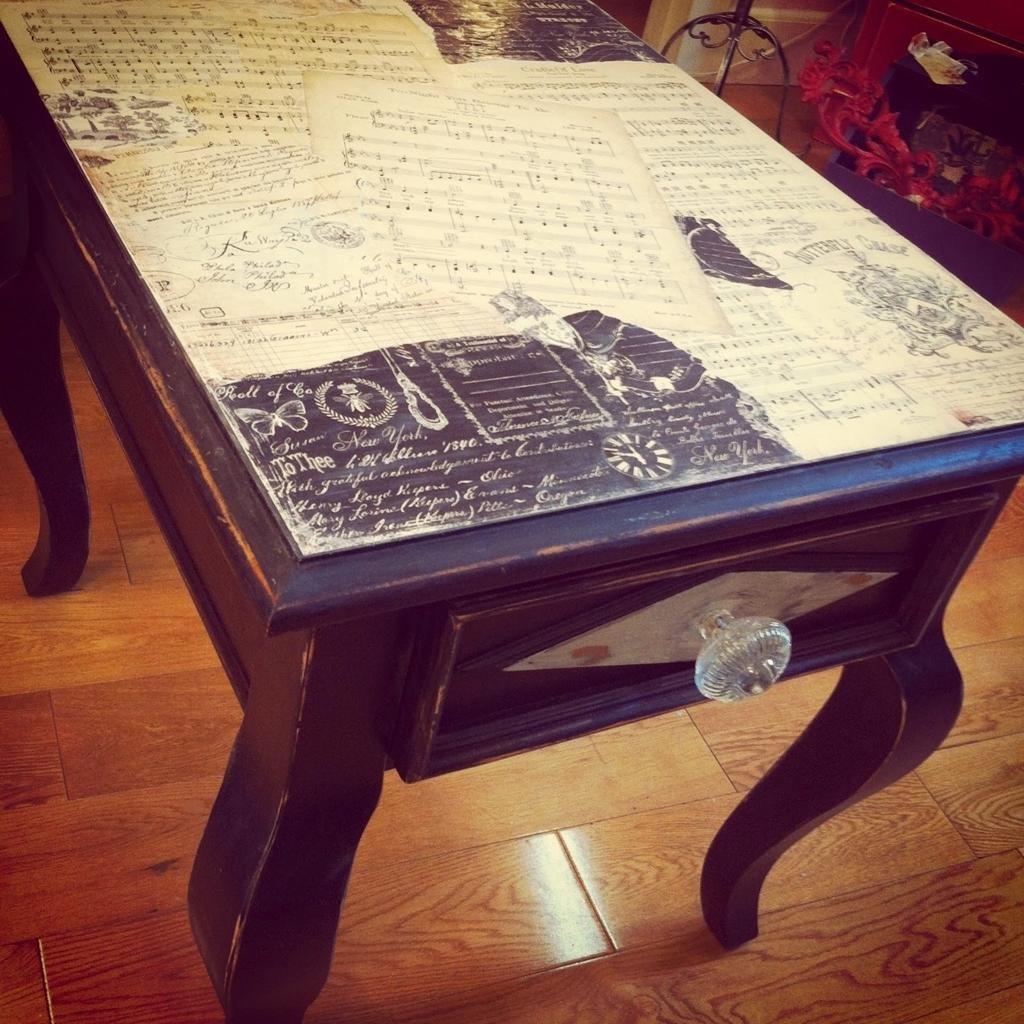 нет как реставрировать старые столы фото мире существует