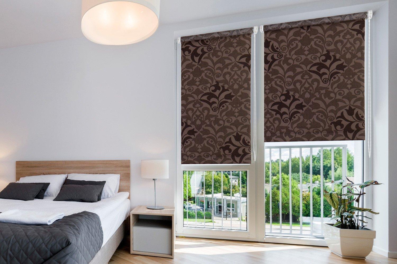 ролл-шторы в спальню