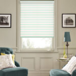 рулонные шторы белые прозрачные