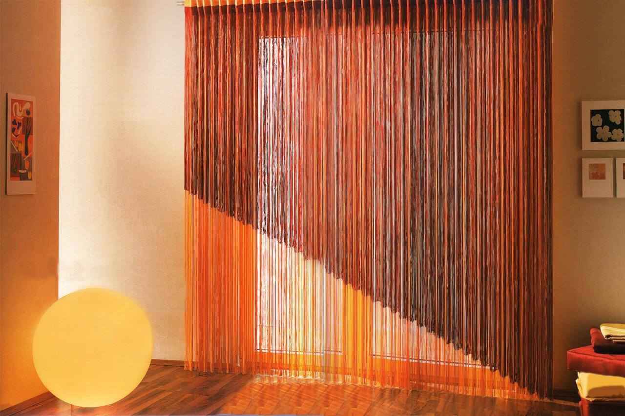 принцип работы веревочных штор