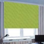 рулонные шторы широкие зеленые
