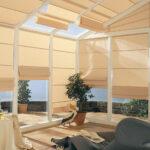 электро-рулонные шторы солнце