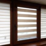 рулонно-кассетные шторы полоска