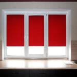 рулонно-кассетные шторы красные