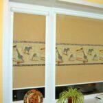 рулонно-кассетные шторы рисунок