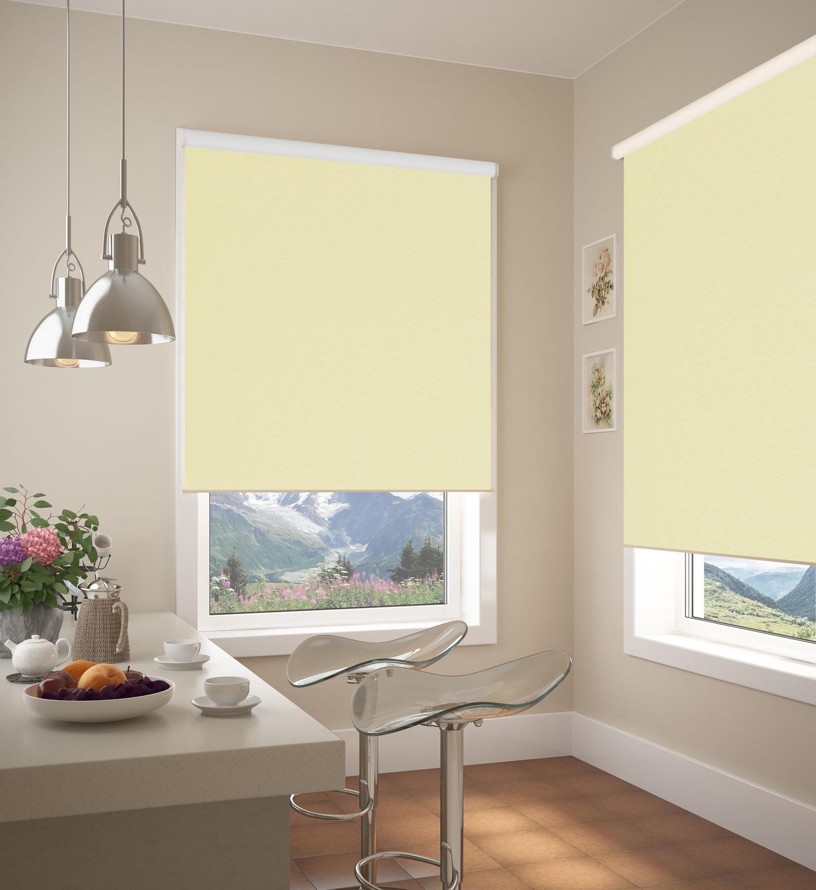 рулонные шторы блэкаут фото