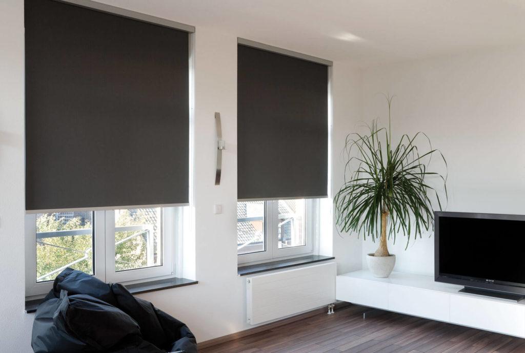 рулонные шторы блэкаут идеи дизайна