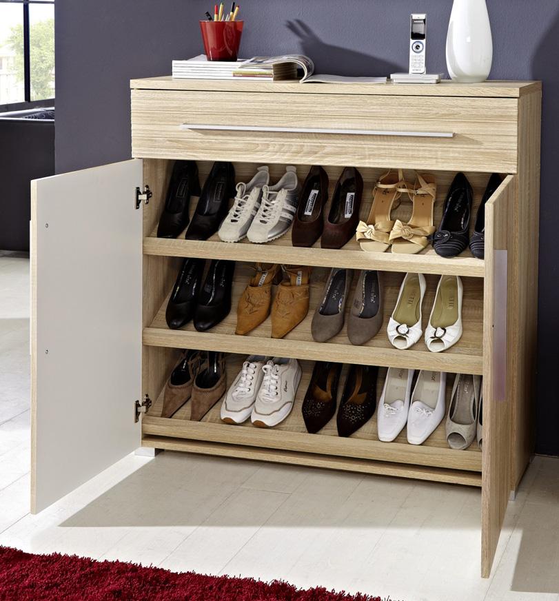 шкаф для обуви декор