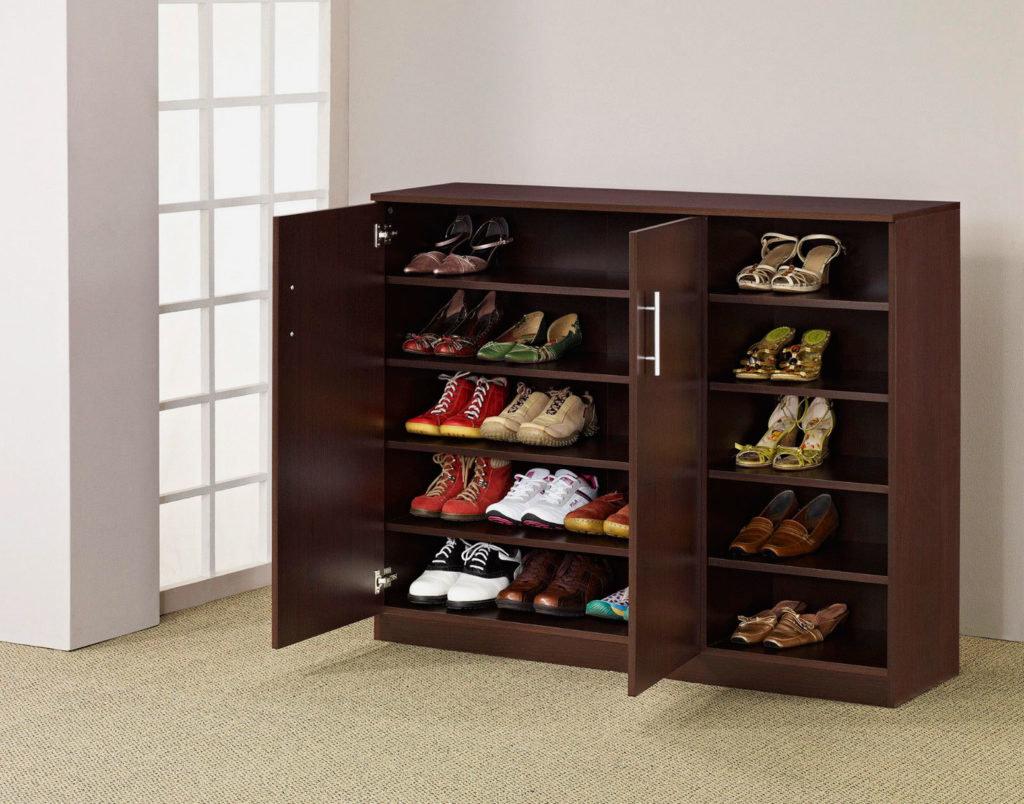 шкаф для обуви оформление фото