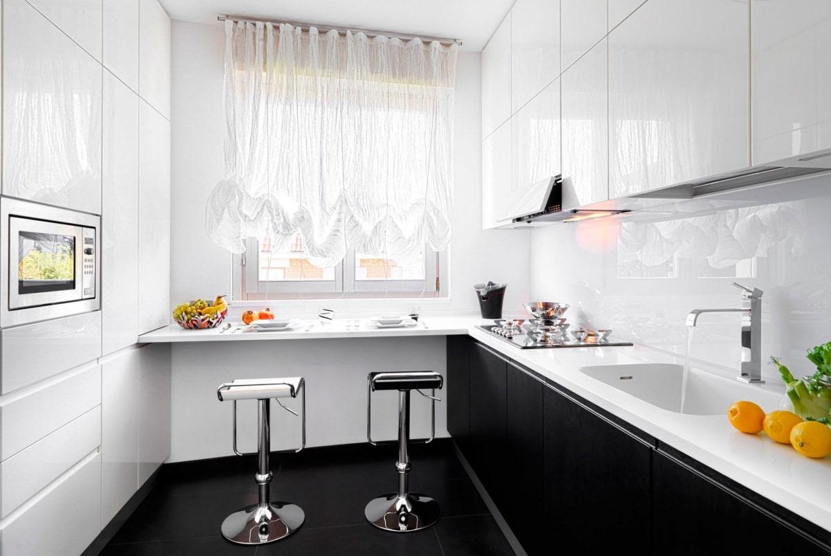 шторы для маленькой кухни декор