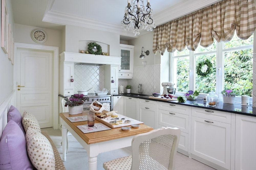 шторы для маленькой кухни дизайн идеи