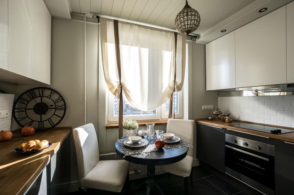 шторы для маленькой кухни фото декор