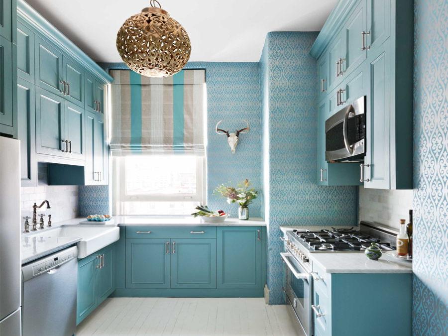 шторы для маленькой кухни фото дизайн