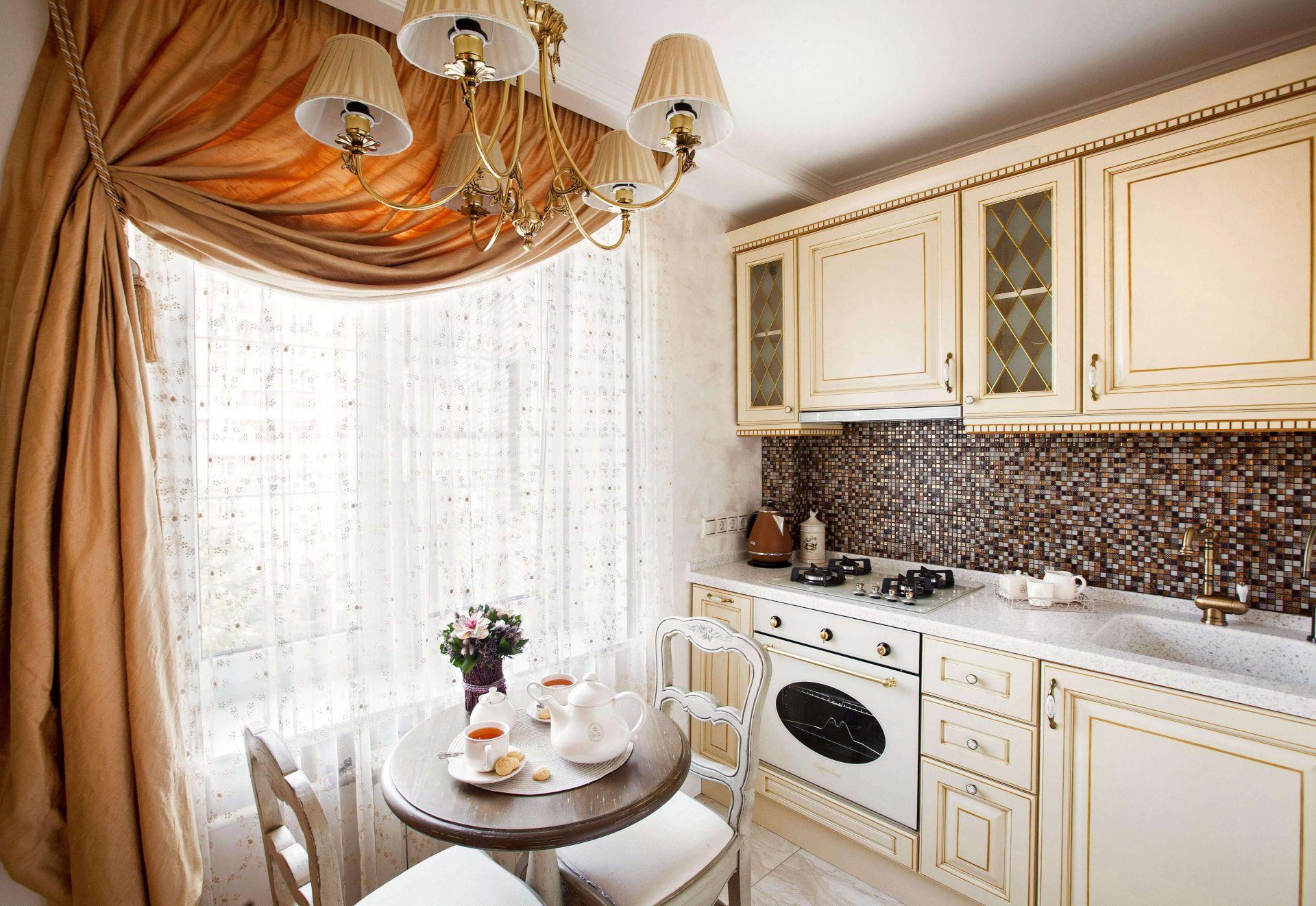 шторы для маленькой кухни фото идеи