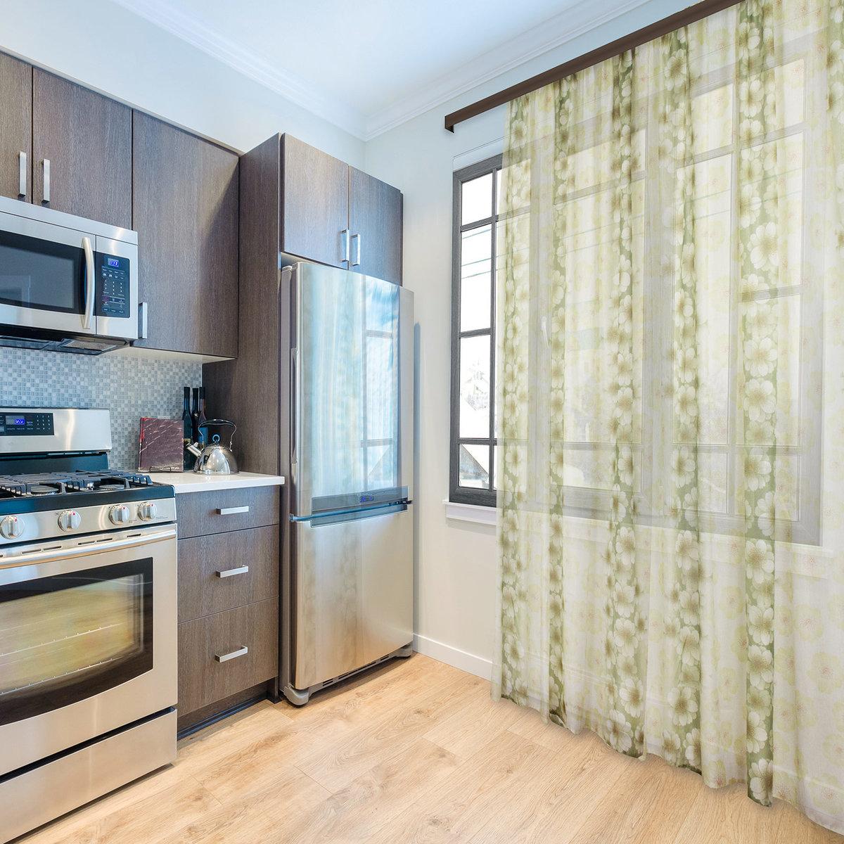 наше шторы для кухни до пола фото пряниками