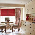 шторы красного цвета идеи декора