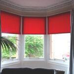 шторы красного цвета варианты фото