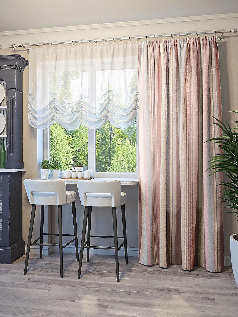этой шторы для кухни до пола фото проводится два тура