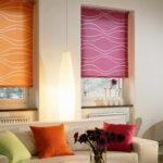 шторы на окна цветные ролеты