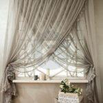 шторы на окна серая тюль