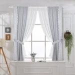 шторы на окна короткие