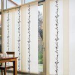 шторы на окна японские белые