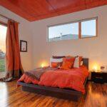 шторы оранжевого цвета фото декора