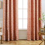 шторы оранжевого цвета идеи декор