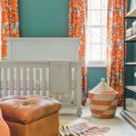 шторы оранжевого цвета фото интерьера