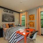 шторы оранжевого цвета идеи вариантов