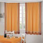 шторы оранжевого цвета идеи варианты